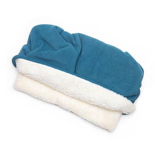 Larkspur Blue Fleece Pocket Bed