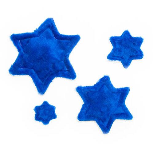 Star of David Plush Dog Toy