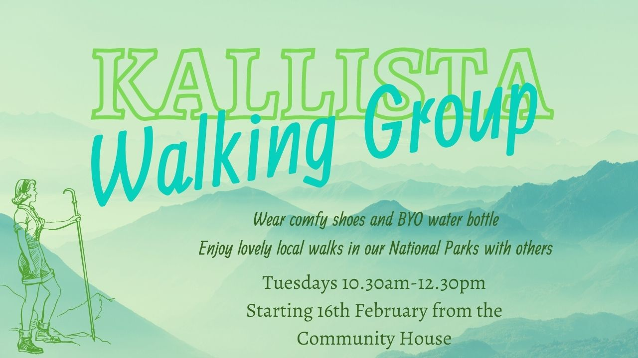 KALLISTA WALKING GROUP