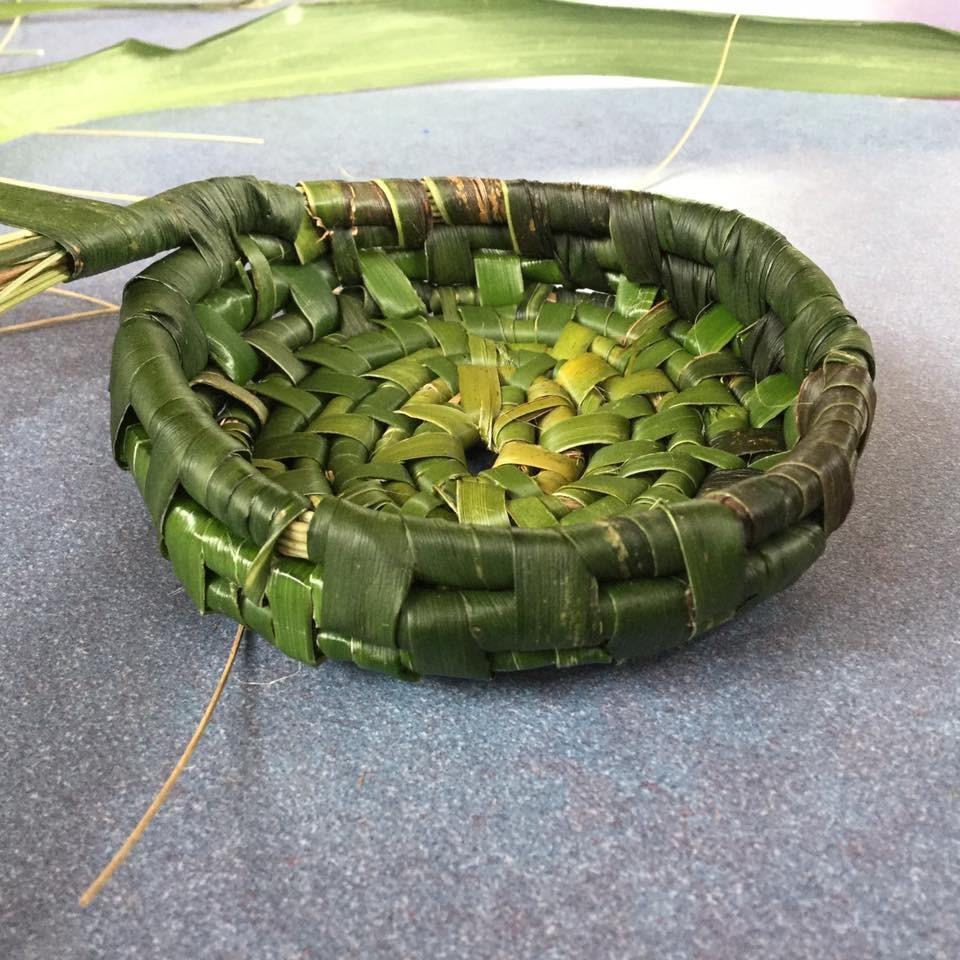 Lemandra Basket Weaving