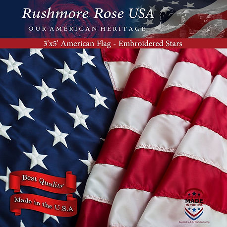 American Flag 3x5 by Rushmore Rose USA