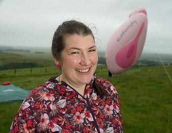 ElaineMiller:Gusset Grippers:Giant Vulva
