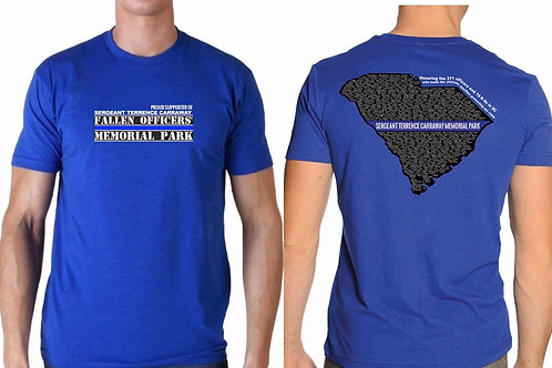 Sgt Terrence Carraway Fallen Officers Memorial Tshirt