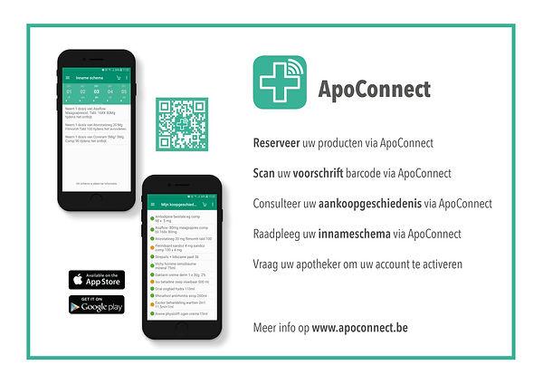 ApoConnect Flyer A4 formaat voor A4 prin