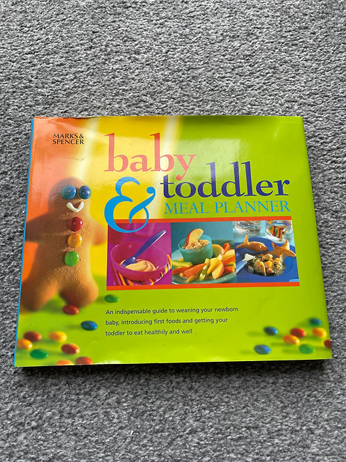 Baby & toddler meal planner M&S