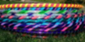 handmade hula hoop