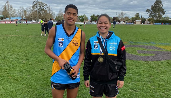 Robinvale represented in the V/Line Cup