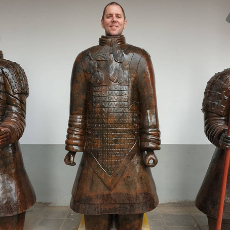 Terracotta Warriors, solar warriors and water warriors