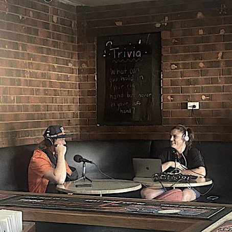 Story time at the Euston Pub with Toby Price OAM