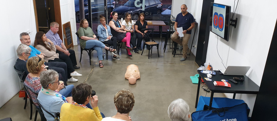 AED Workshop & Info Session