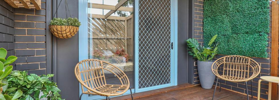Robinvale Bridge Motel | Courtyard