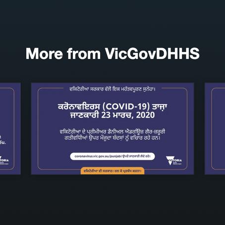 Covid-19 Information in Vietnamese