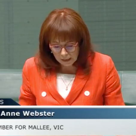 A conversation with Dr Anne Webster, Federal Member for Mallee