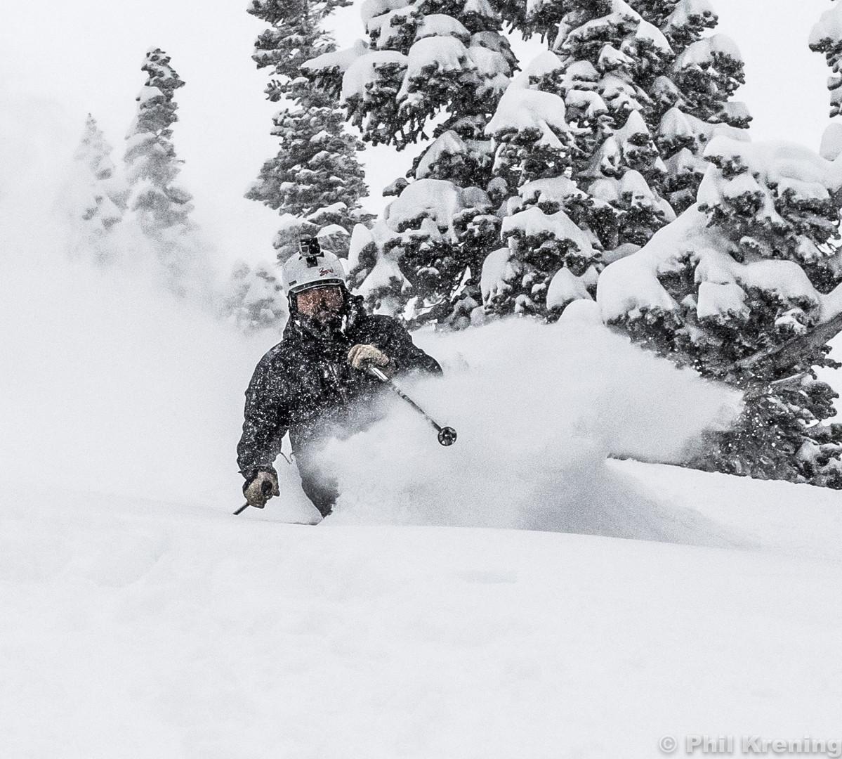 Joe in deep at Alta