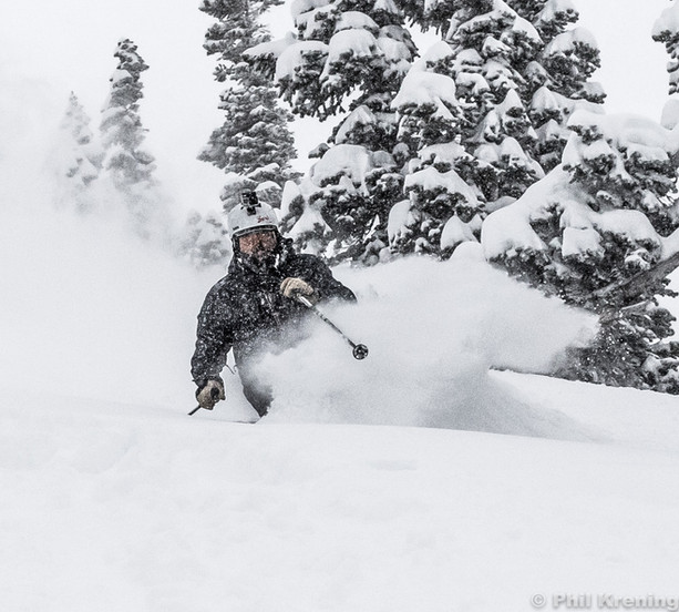 Joe in deep at Alta