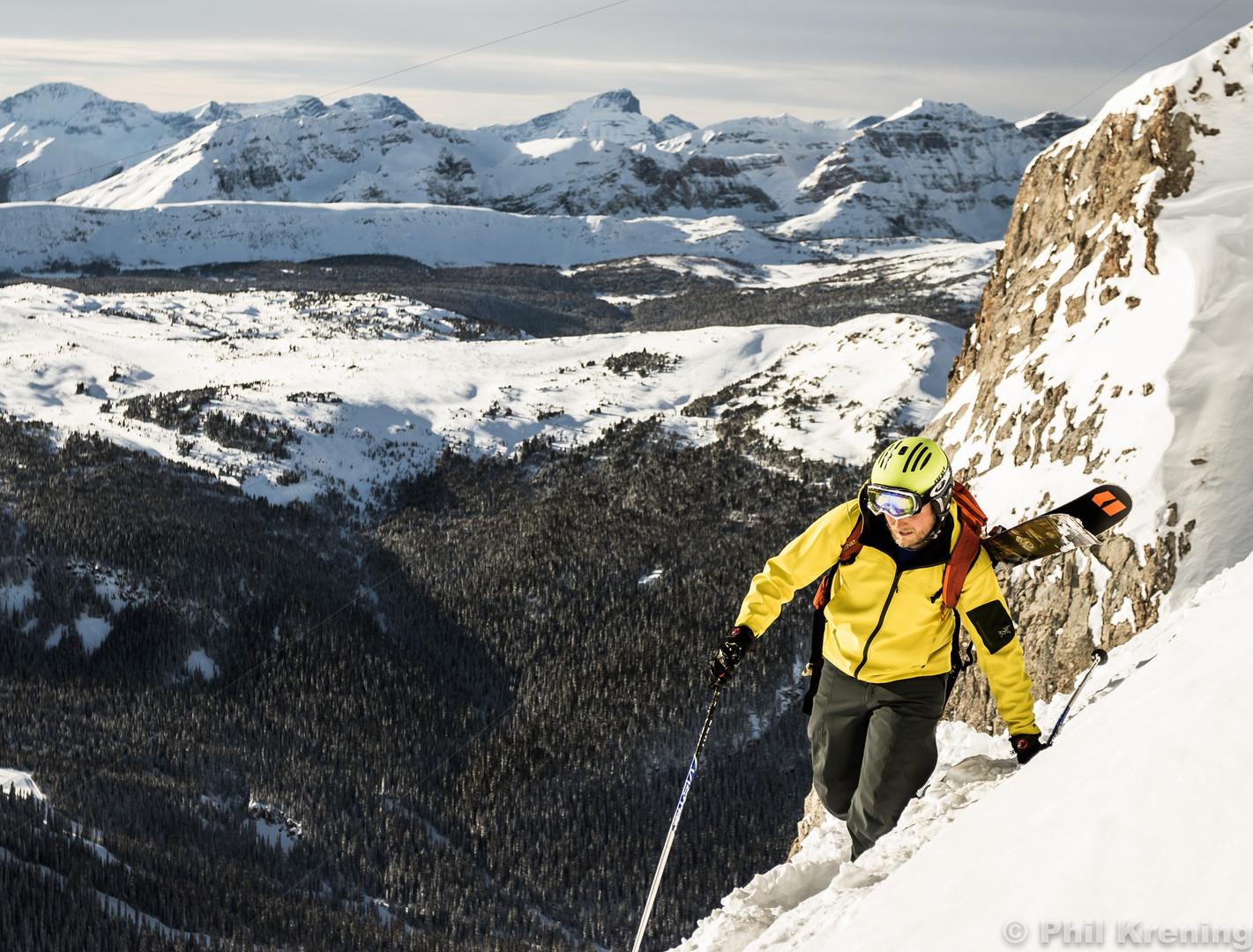Drew Christ in Banff