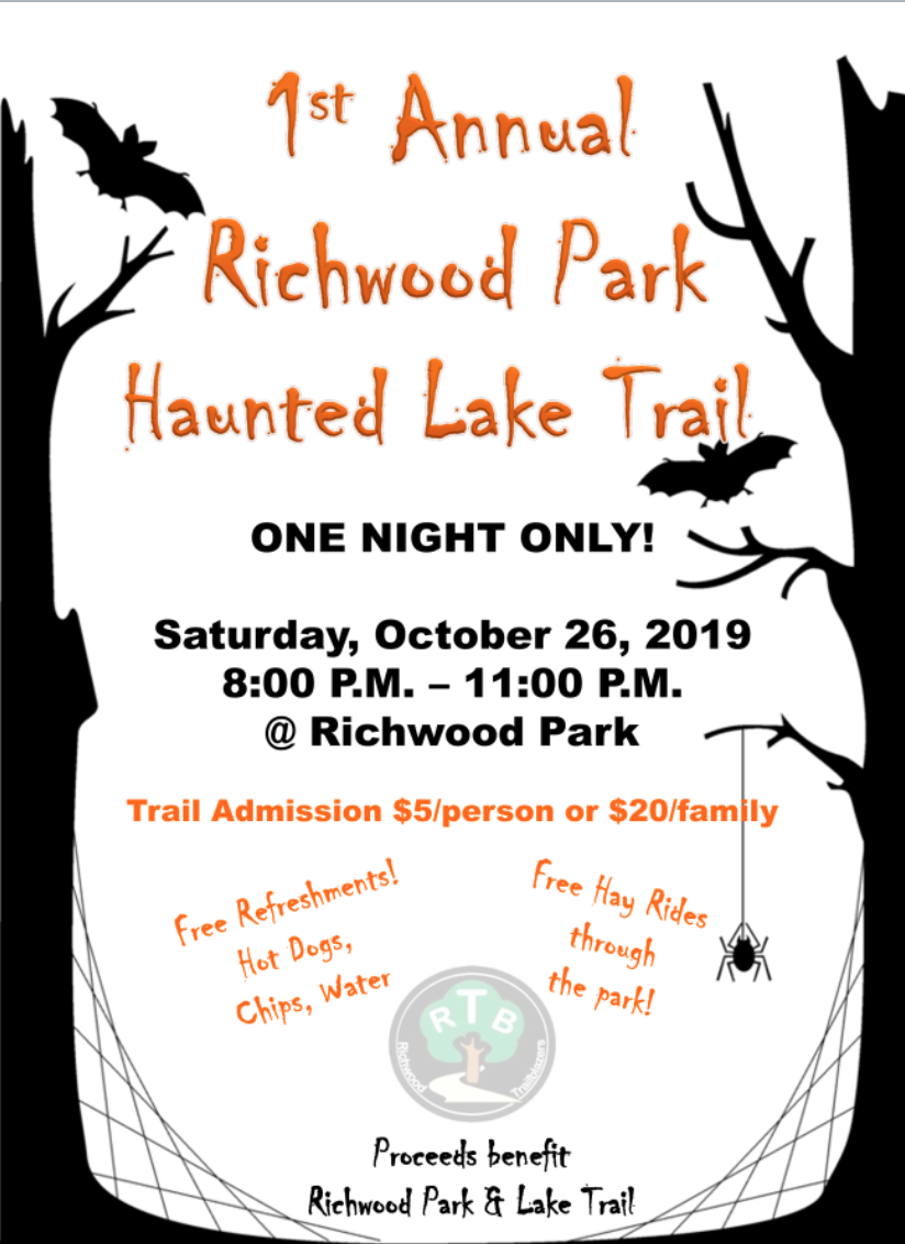 Richwood lake haunted trail