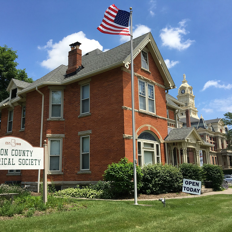 Union County Historical Society Open Hours