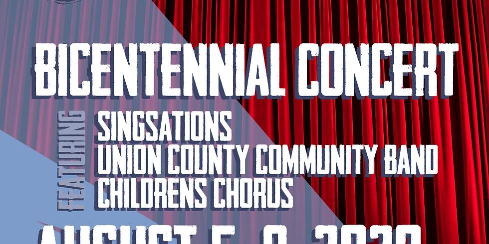 Singsations - Union County Bicentennial Concert Band and Children's Chorus