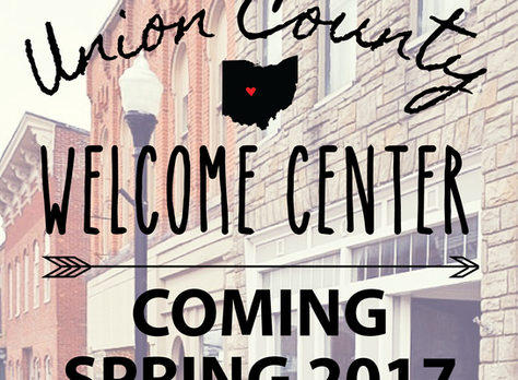 Welcome Center Opening Spring 2017!