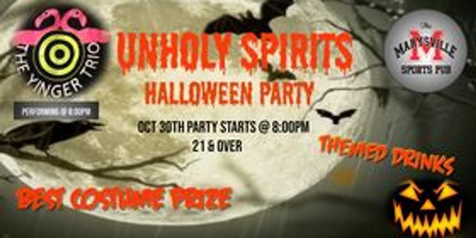 Unholy Spirits at Marysville Sports Pub