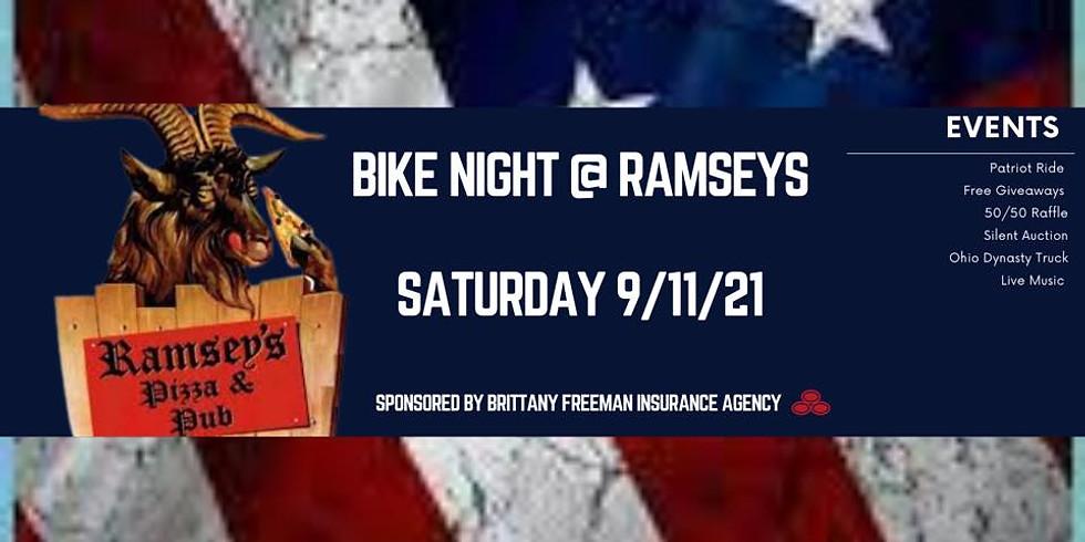 Bike Night at Ramsey's/Rock Skarz & Patriotic Ride