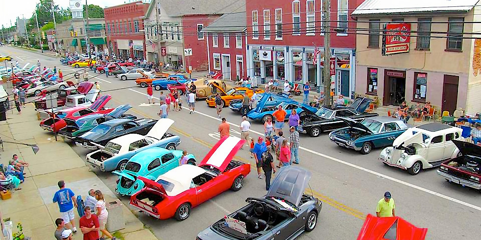 Plain City Classic Car Cruise - In