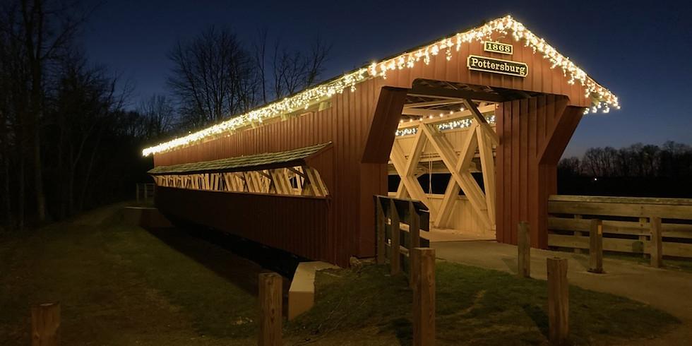 Holiday Lights at Pottersburg Bridge