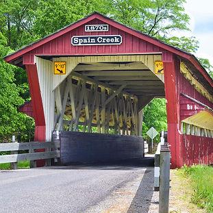 Spain Creek Covered Bridge