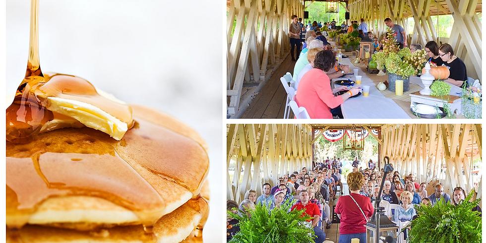 Sunday Worship Service & Breakfast on the Bridge