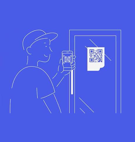 Customer scanning venue.jpg