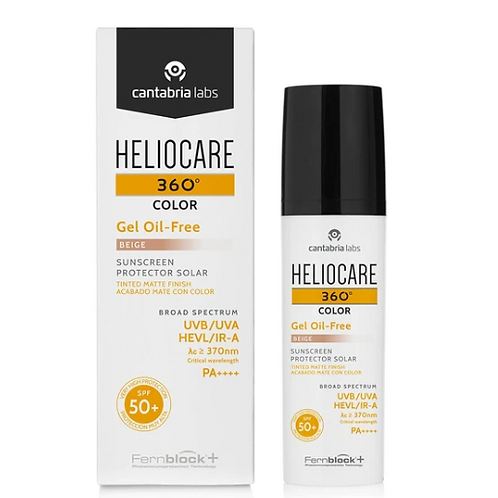 Heliocare 360° Color Oil Free Gel Bronze