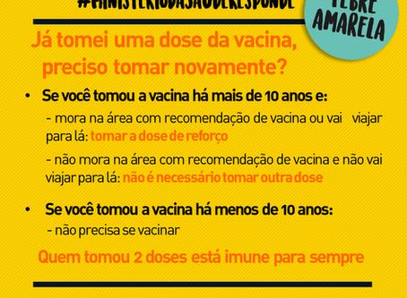 11 perguntas e respostas sobre Febre Amarela