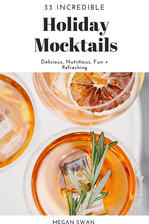 33 Incredible Holiday Mocktails