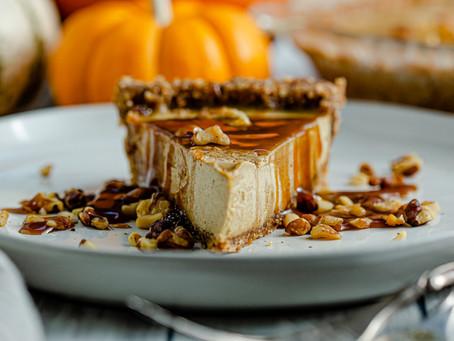 Raw Vegan Pumpkin Pie