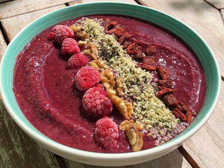 Raspberry Açai Bowl