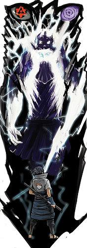 Sasuke Sleeve Tattoo