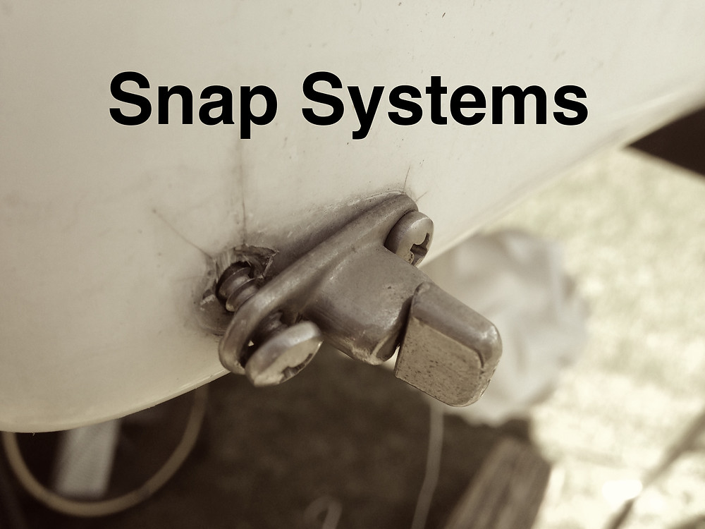 Button and T-Snaps Skirting for RV