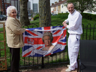 Cockram Court celebrate Her Majesty's 90th Birthday