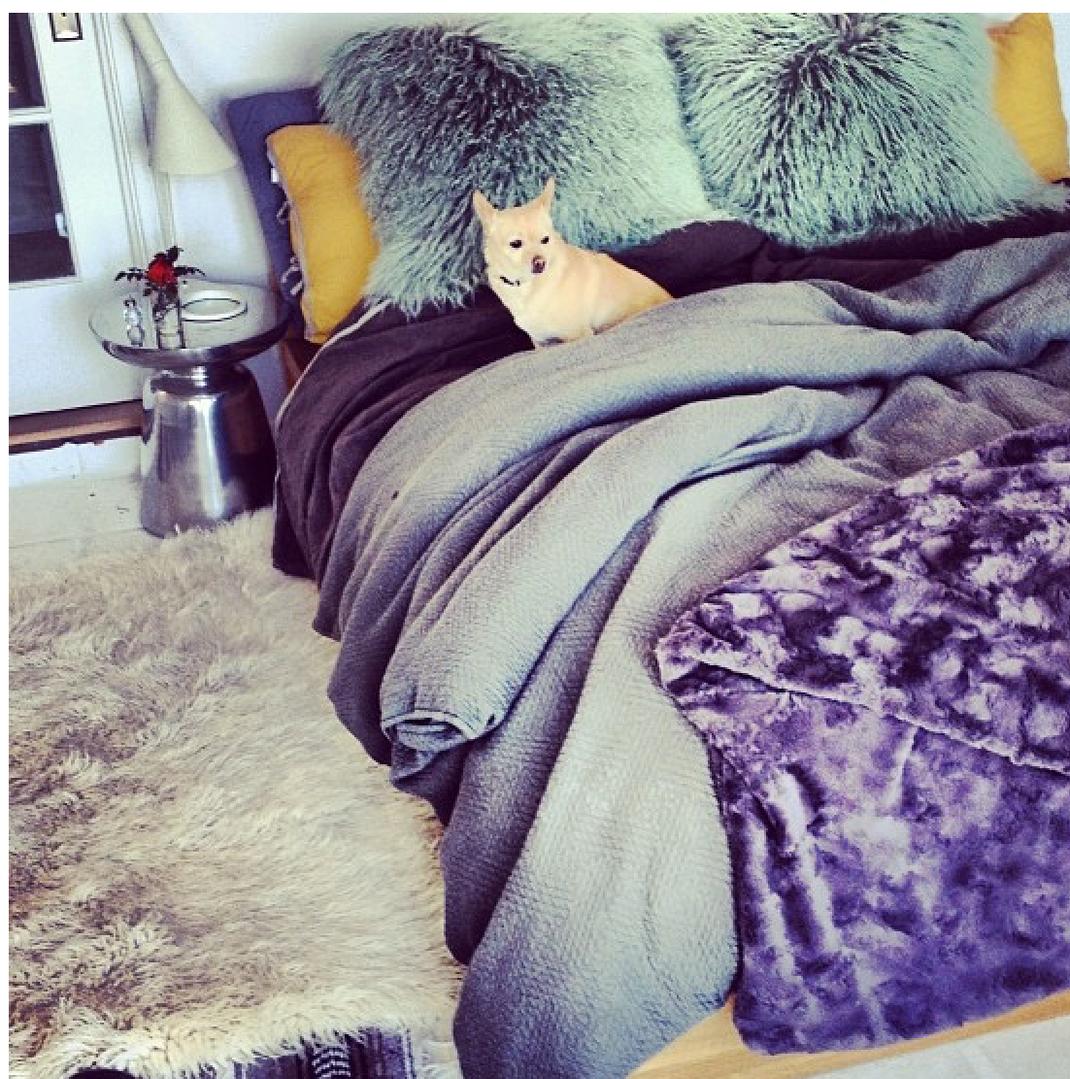 Bedroom glamor