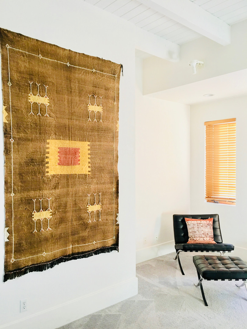 Textiles as Wall art