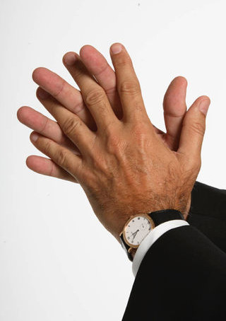 Reserved Behaviors of the Hands