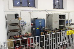 Sala Prova Elettronica di Potenza