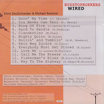 BusStop Rokkers Wired CD Titel