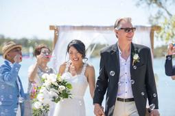 Noosa Bride and Groom