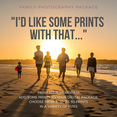 SMALL PRINTS OF YOUR FAMILY PHOTOS