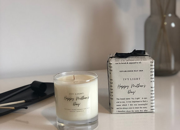 Ivy Light 'Happy Mother's Day' Candle