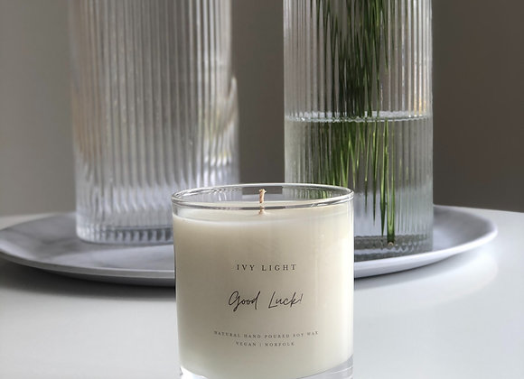 Ivy Light 'Good Luck' Candle