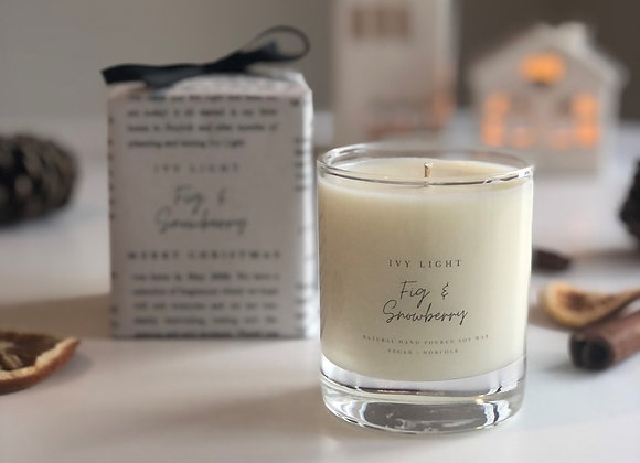 Ivy Light Candle in Fig & Snowberry