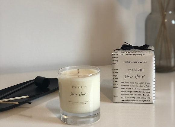 Ivy Light 'New Home' Candle